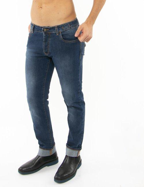 Jeans Liu Jo con impunture a contrasto - Jeans