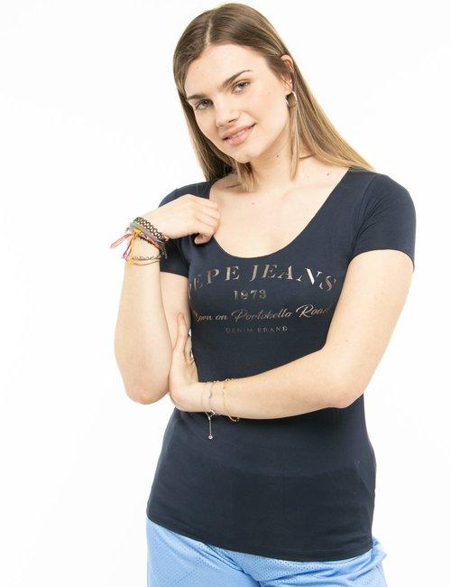 T-shirt Pepe Jeans Portobello Road - Blu