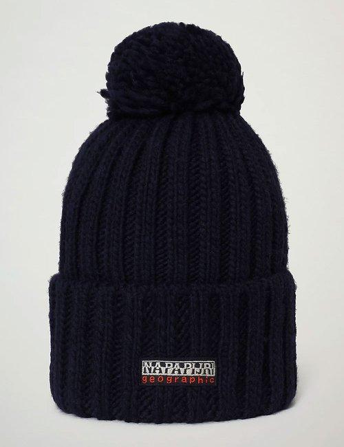 Cappello Napapijri con pom-pon - Blu