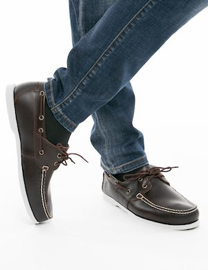 Mocassini Timberland in pelle