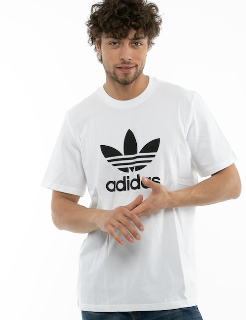 T-shirt Adidas in cotone - Bianco