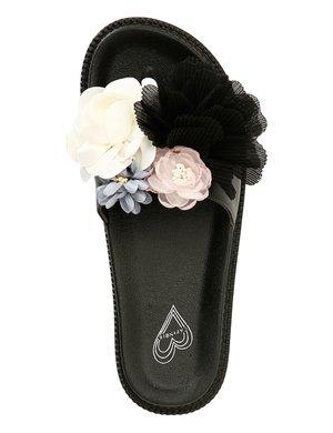Ciabatta Cafè Noir con fiori