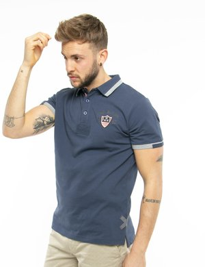 Polo Fred Mello con logo applicato a lato