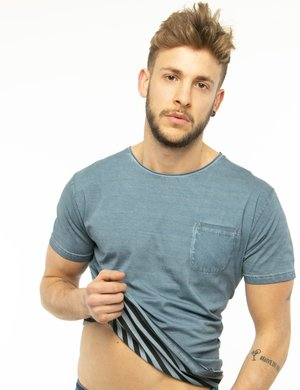 T-shirt Fred Mello con taschino