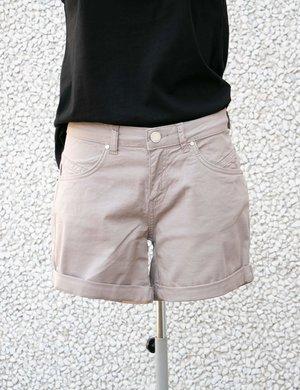 Shorts Maison Espin con risvolto