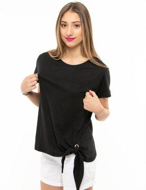 T-shirt Maison Espin con nodo a lato
