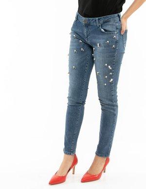 Jeans Maison Espin con applicazioni