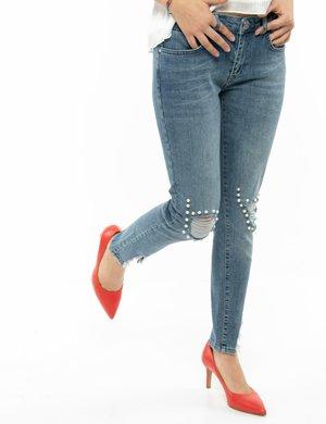 Jeans Maison Espin con perle