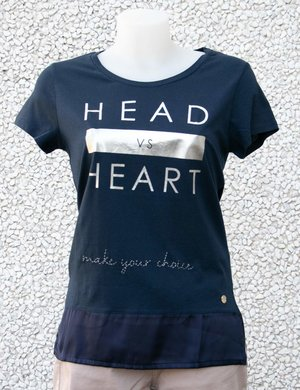 T-shirt Maison Espin con scritta stampata