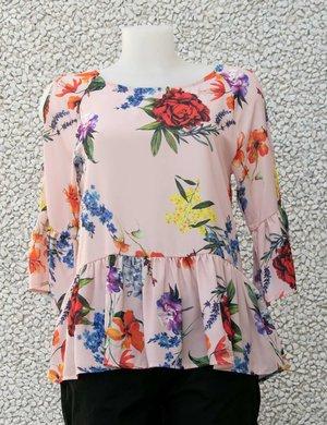 Camicia Maison Espin floreale