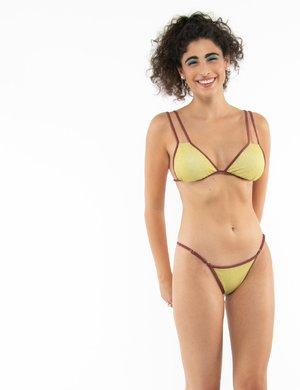 Costume Me Fui bikini effetto brillantinato