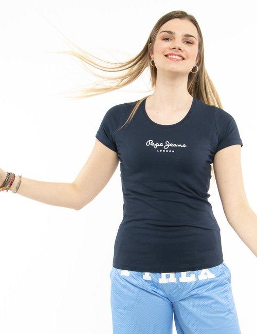 T-shirt Pepe Jeans basic - Blu