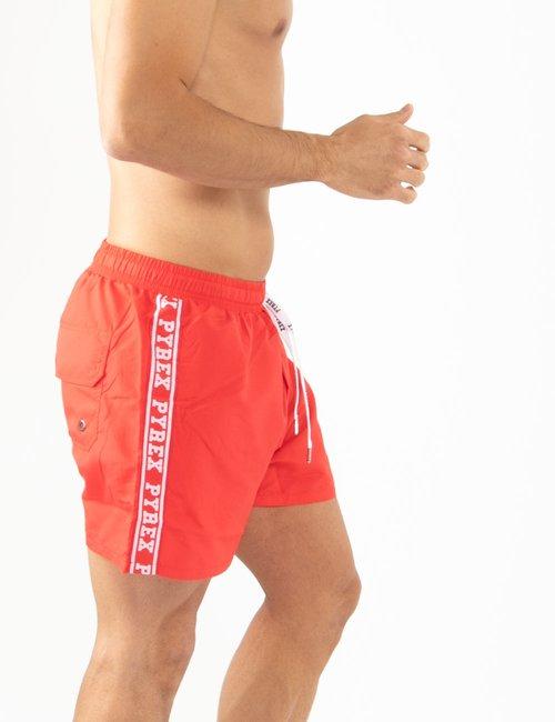 Costume Pyrex con bande laterali - Rosso