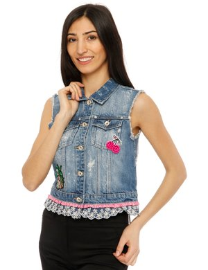 Gilet Fracomina in denim