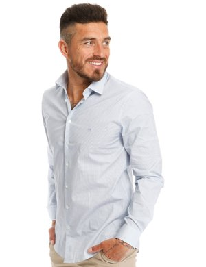 Camicia Calvin Klein in cotone stretch
