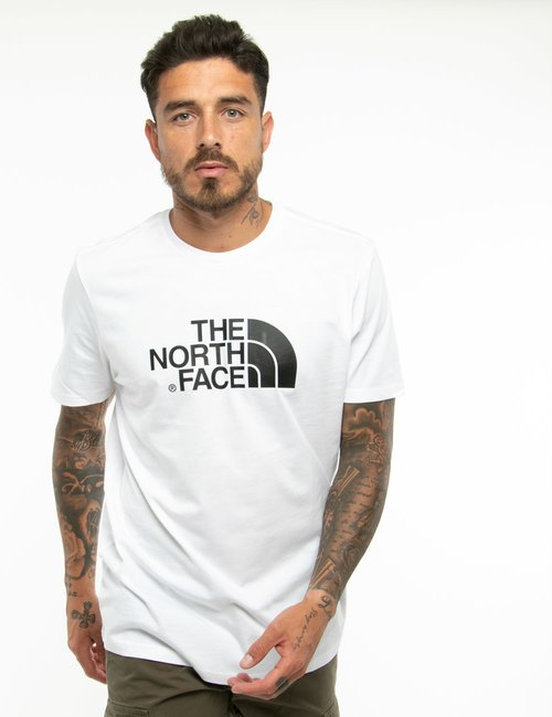 T-shirt The North Face con logo stampato - Bianco
