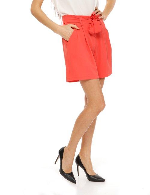 Shorts Vougue con cintura - Arancione