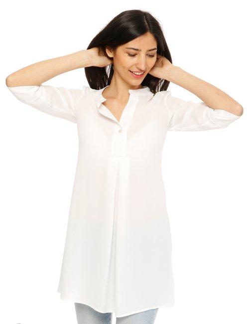 Camicia Vougue maxi - Bianco
