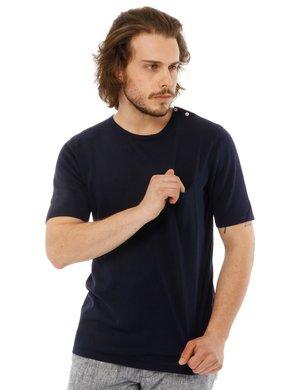 T-shirt Yes zee con logo e taschino