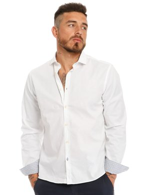 Camicia Fred Mello in cotone stretch