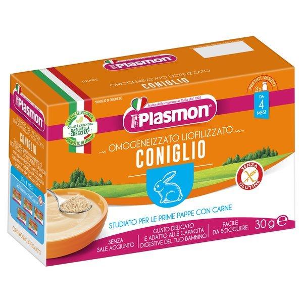 Plasmon Omogeneizzato Liofilizzato Coniglio 3 x 10 g