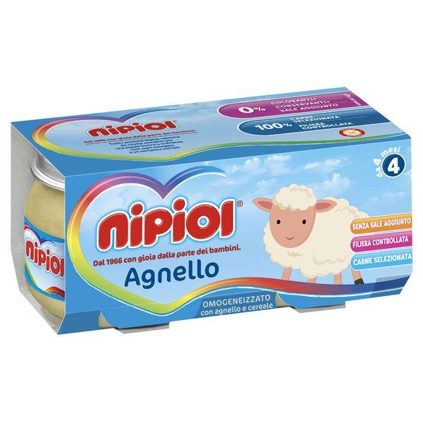 Nipiol Omogeneizzato con Agnello e Cereale 2 x 80 g