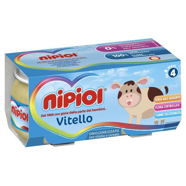 Nipiol Omogeneizzato Vitello 2x80g