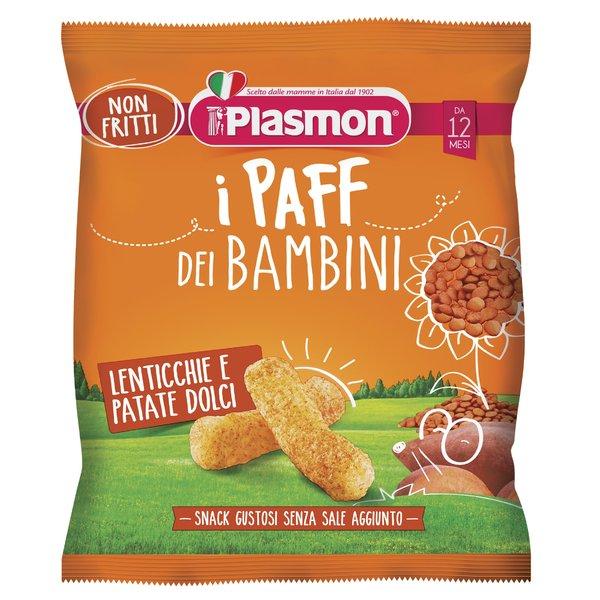 Plasmon i Paff Lenticchie e Patate Dolci 15g