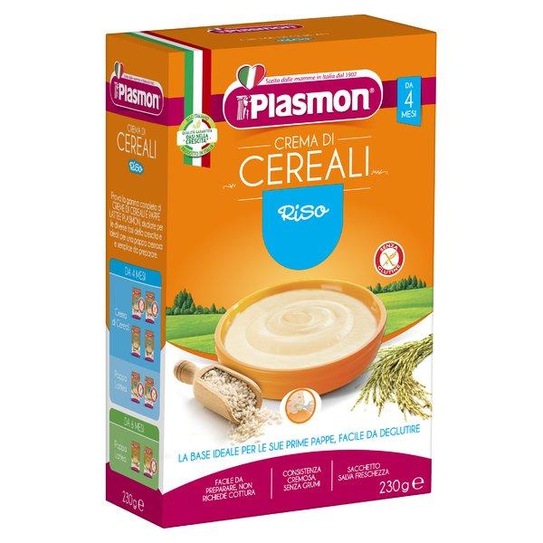 Plasmon Crema di Cereali Riso 230 g