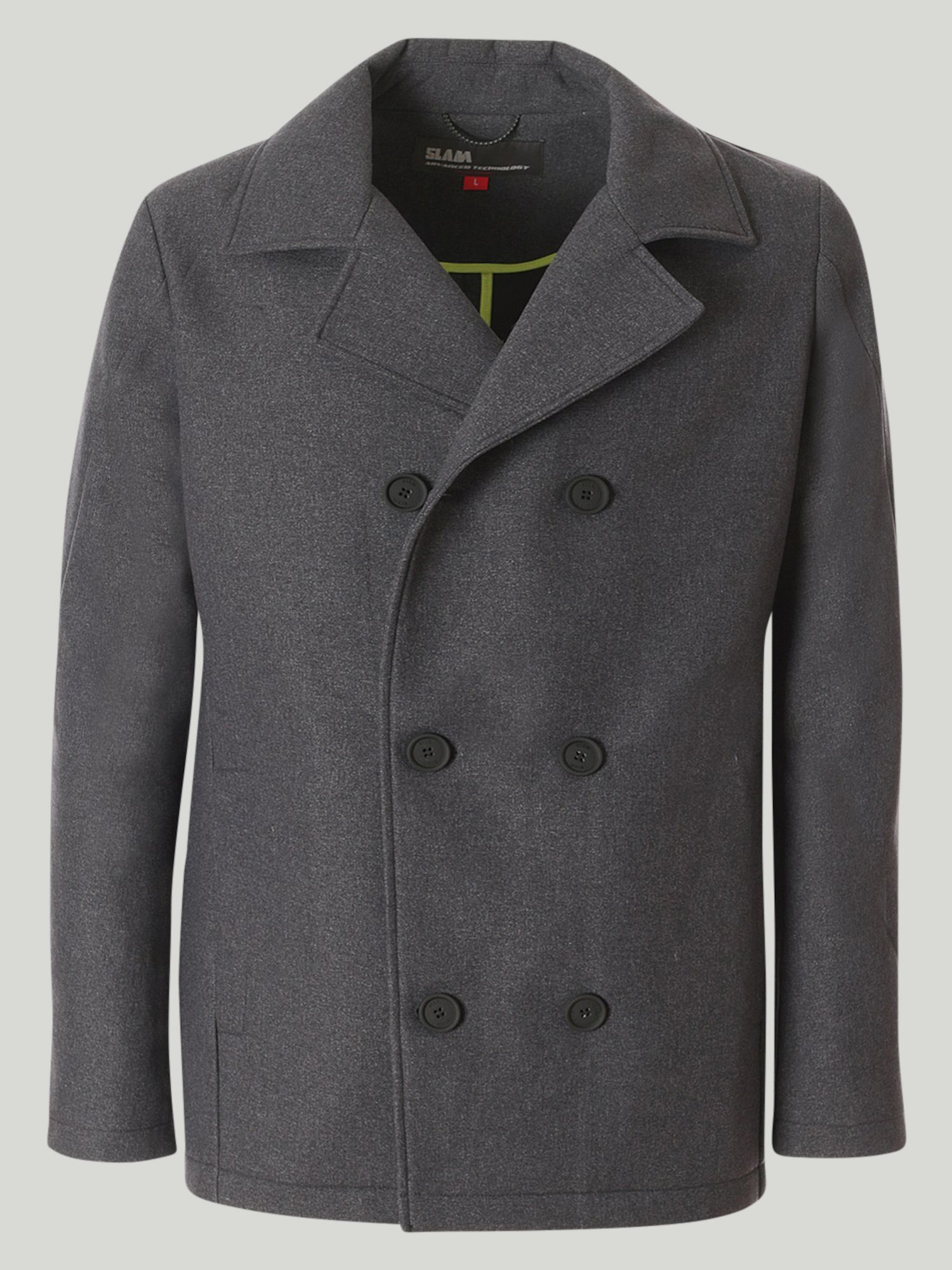 Ostia jacket - Grey Melange