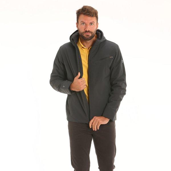 Giacca uomo New Doohan in tessuto Maxland® con cappuccio
