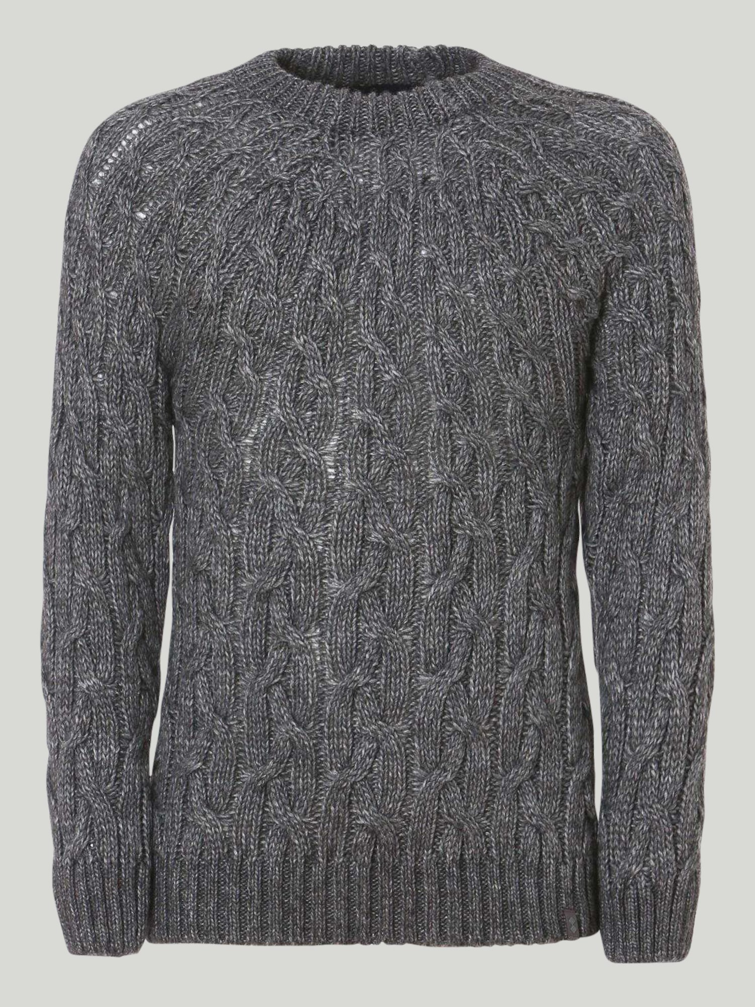 Shirt Fanning - Grau Melange