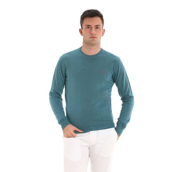 Herrenpullover Fluyt mit Rundausschnitt aus Baumwolle