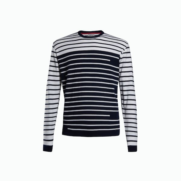T-shirt Man Jumper A176 in Cotton with long sleeves