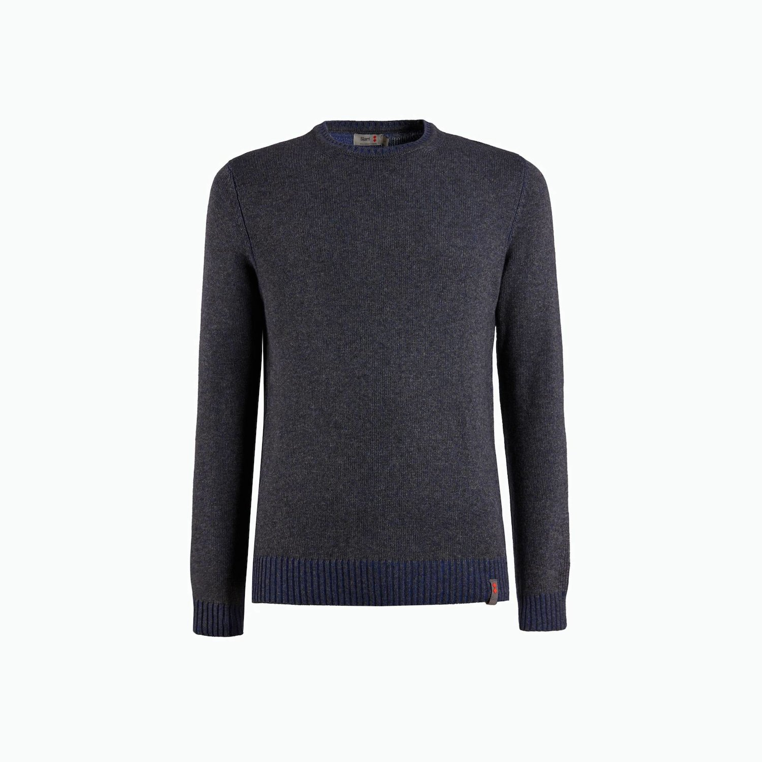 B82 Jumper - Grey Melange / Navy