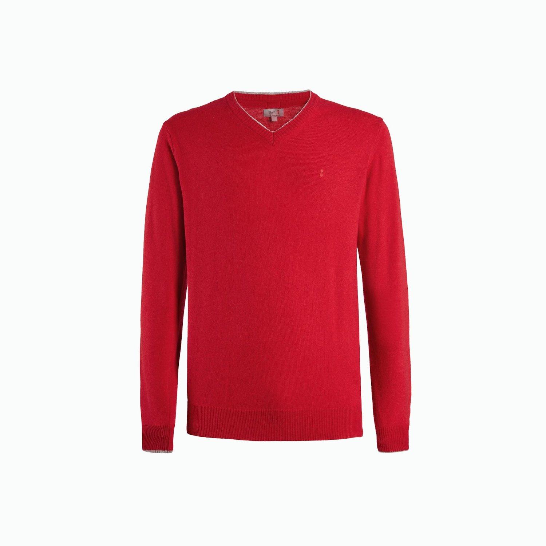 B134 sweater - Chili Red