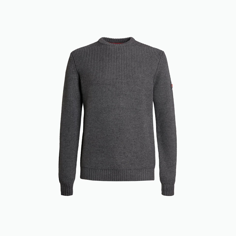 Pullover B140 - Grau Melange