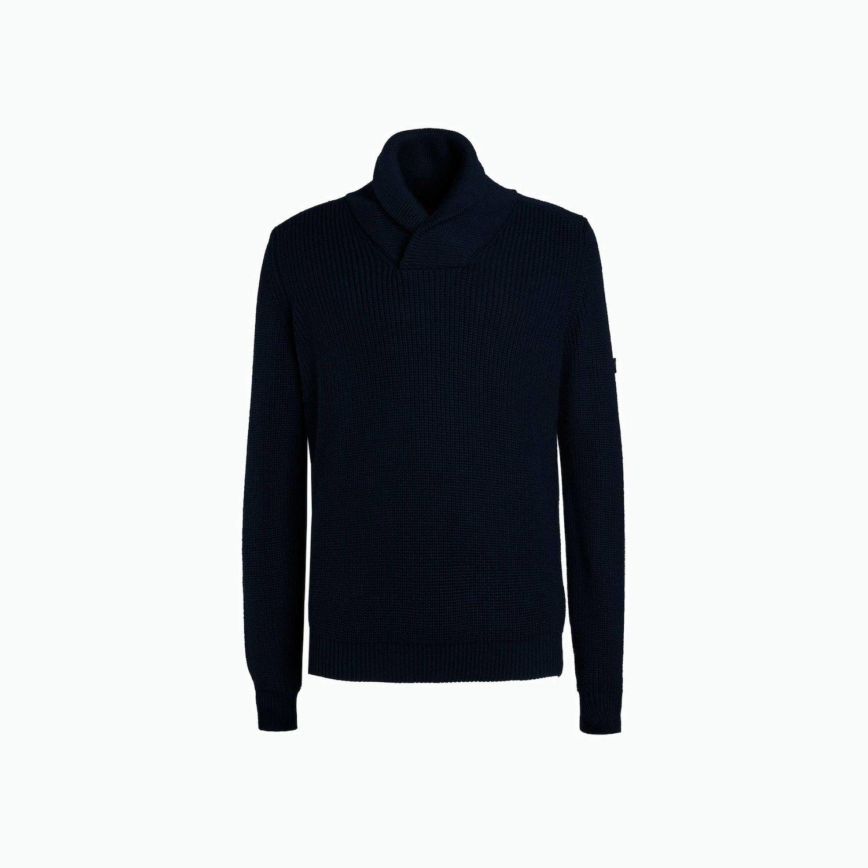 Pullover B144 - Marinenblau