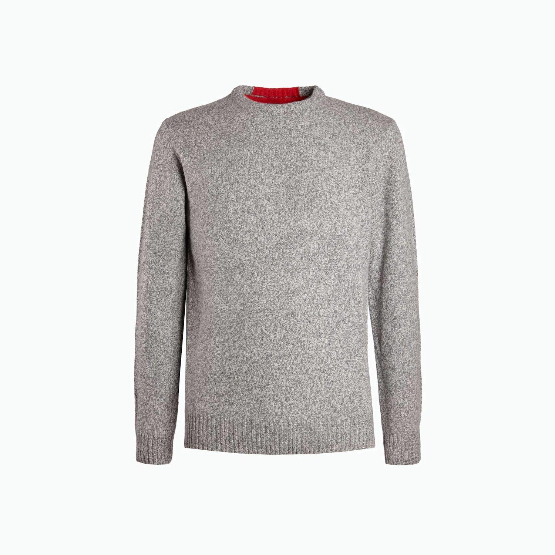 B147 sweater - Grey Melange
