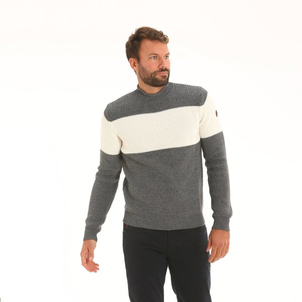 Men jumper D51 in technical merino blend