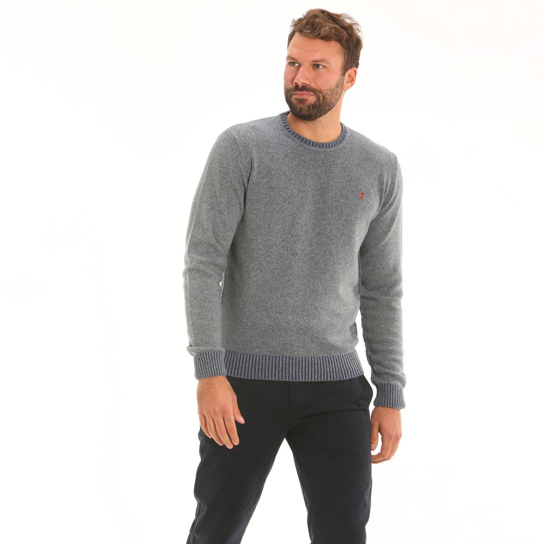 Pullover D61 - Grau Melange
