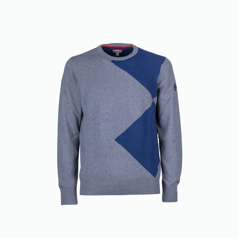 Pullover D58 - Grau Melange