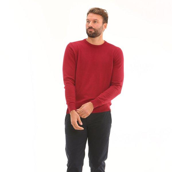 Herrenpullover F70 aus Baumwollmischgewebe