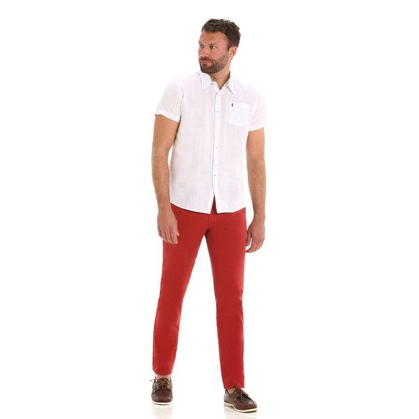 Pantalón chino Berth de ajuste entallado para hombre