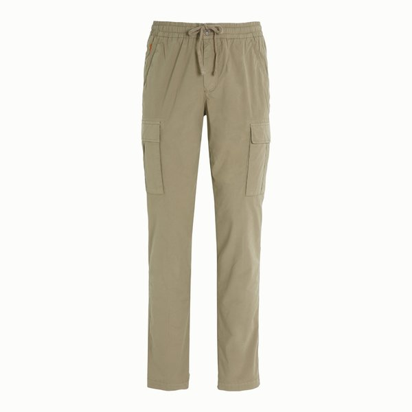Men's A77 cargo trousers with elastic drawstring