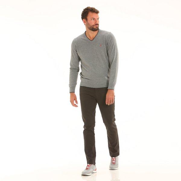 Pantalone uomo F161 cinque tasche in cotone elasticizzato