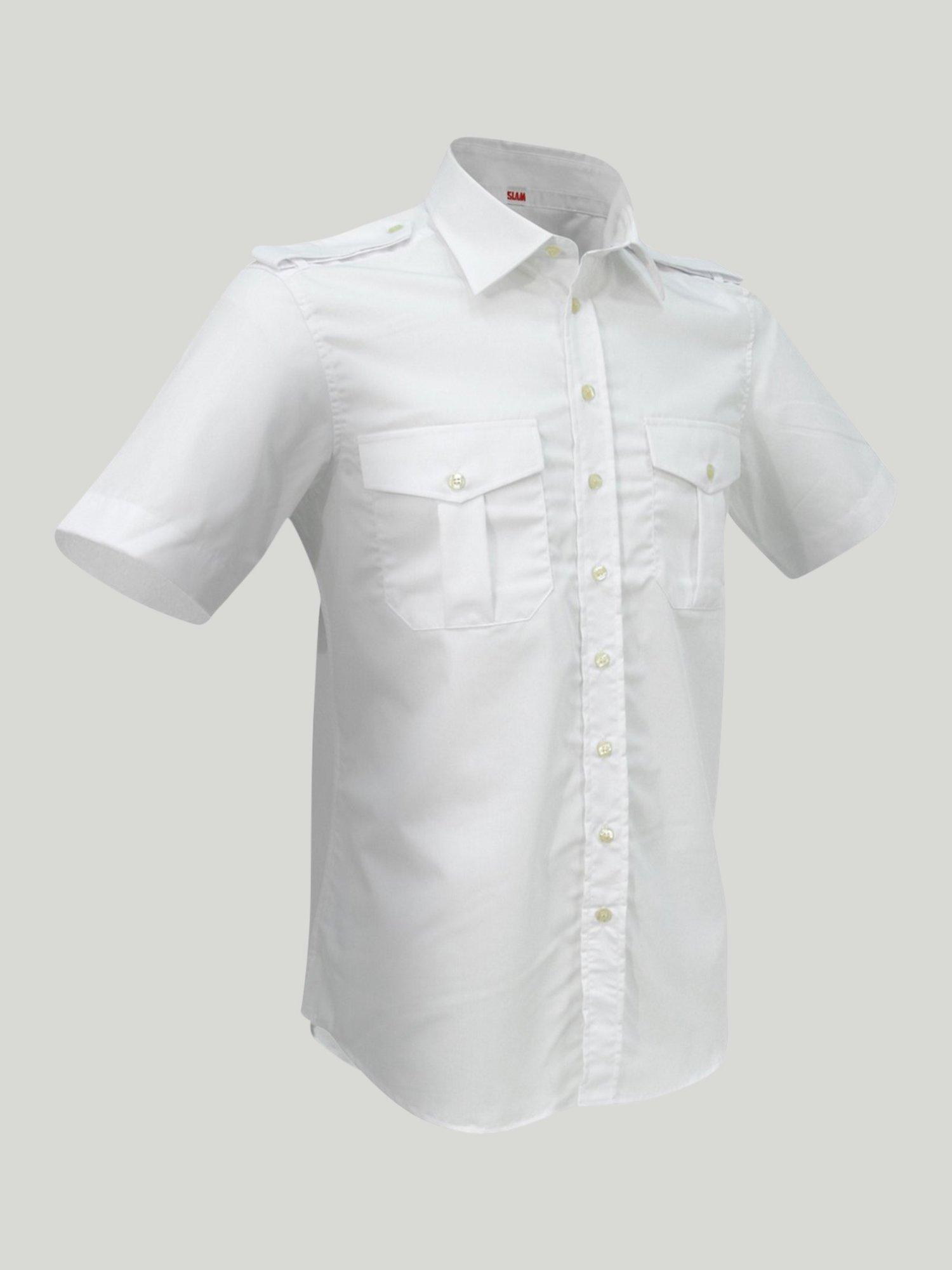 Camisa Laurel SS - Blanco