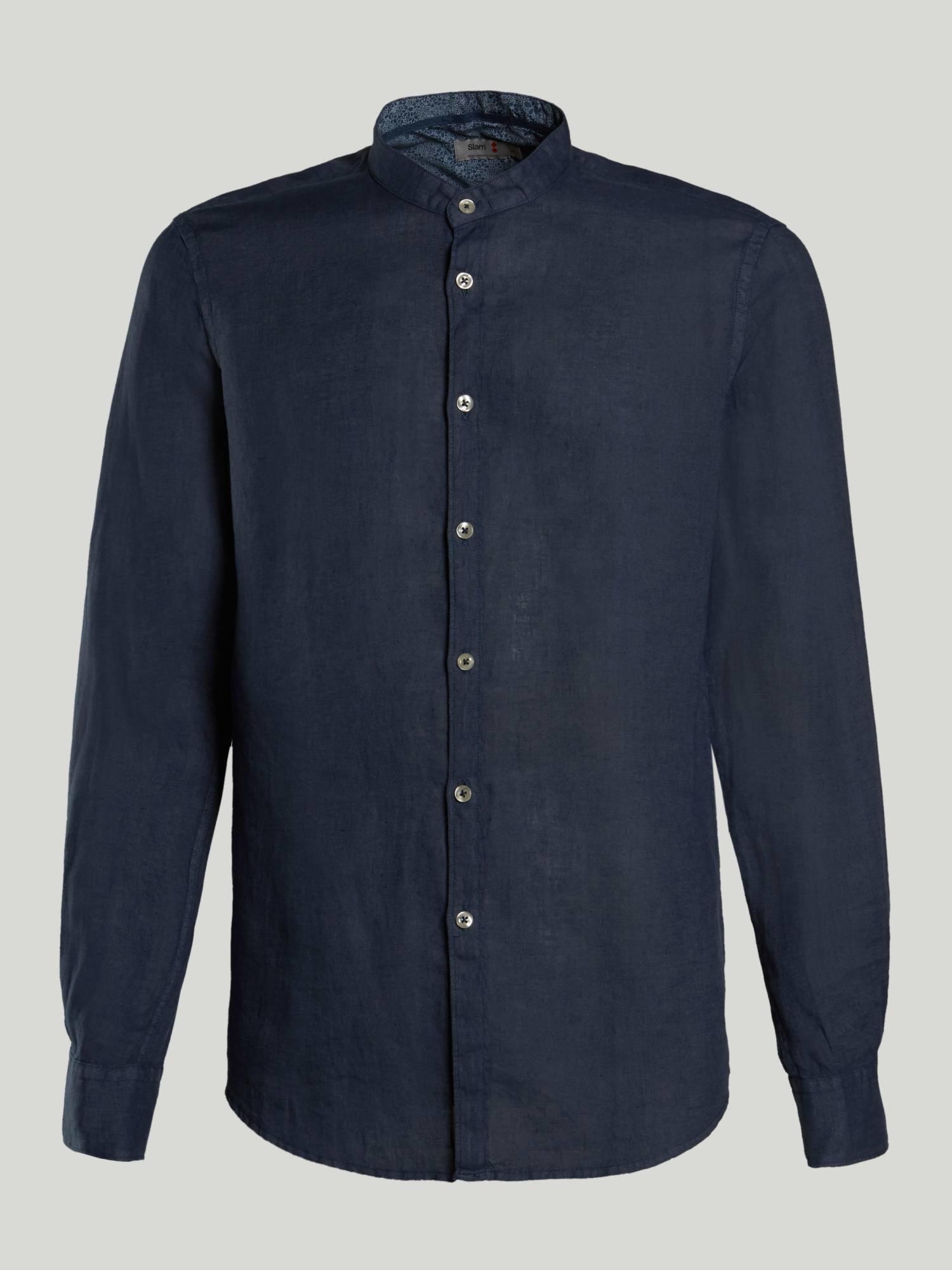 Shirt A142 - Marinenblau