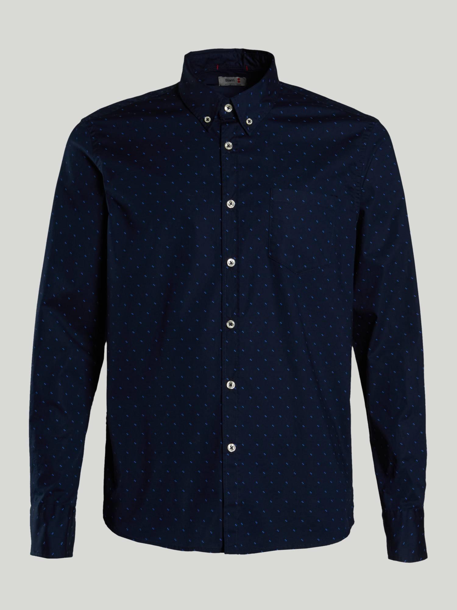 Shirt A148 - Marinenblau