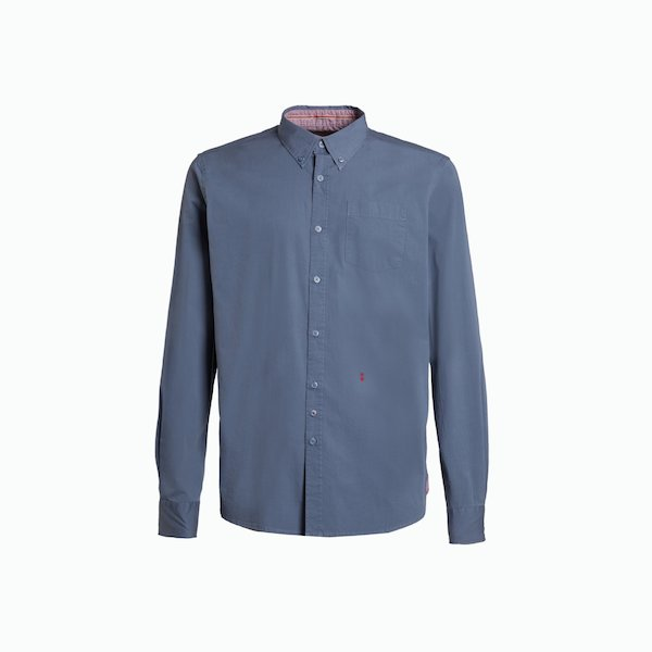 Camicia B12 in manica lunga da uomo con colletto